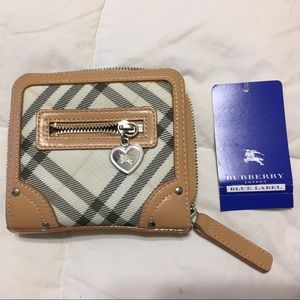 Burberry Blue Wallet
